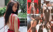 Khi Ngọc Trinh vướng thị phi vì mặc hở bạo ở Cannes, Linh Chi chia sẻ đầy ẩn ý