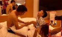Con trai Ốc Thanh Vân bị ngã suối khi cùng bố mẹ đi du lịch Hàn Quốc
