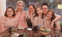 Vừa về Việt Nam, Ngọc Trinh đã diện đồ giản dị đi ăn cùng hội bạn thân
