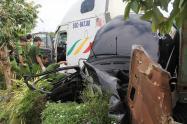 Vụ tai nạn thảm khốc khiến 5 người thiệt mạng ở Tây Ninh: Tài xế container khai gì?