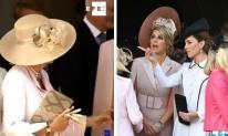 Bà Camilla thể hiện quyền lực khi ra tay nhắc nhở cô con dâu Kate mải buôn chuyện với khách mời