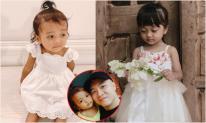 H'Hen Niê tung loạt ảnh chứng minh con gái nuôi của Đỗ Mạnh Cường giống hệt cháu mình