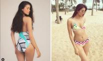 Sau khi dính tin đồn đã sinh con ở Mỹ, gu chọn bikini của Phạm Hương khác hẳn trước đây