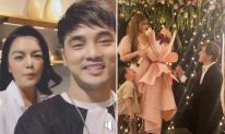 Ưng Hoàng Phúc, Phạm Quỳnh Anh và dàn sao Việt chúc mừng Thu Thuỷ được bạn trai kém tuổi cầu hôn