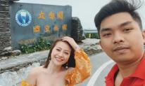 Ca sĩ MiA đi du lịch Đài Loan cùng chồng sau một thời gian chữa bệnh suy gan