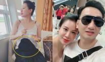 Đi nghỉ dưỡng sang chảnh ở Hàn Quốc, bà xã nóng bỏng của MC Thành Trung dính nghi án mang bầu vì lộ vòng hai lùm lùm
