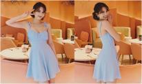 Ngọc Trinh 'hack tuổi' với style váy ngắn, tóc ngắn khi check-in tại Thái Lan