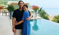 Không những chăm khoe chồng, Hà Tăng còn không ngại than thở nhớ Louis Nguyễn