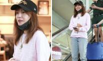 Không phải ai cũng dũng cảm như Triệu Vy: Lần nào xuất hiện ở sân bay cũng để mặt mộc 100%