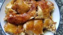 Cách làm món gà hấp vàng ươm, thơm ngon ngất ngây