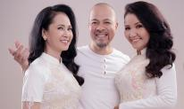 Hai bà 'mẹ chồng hot nhất điện ảnh Việt' đẹp xuất sắc với áo dài đôi thông gia của NTK Đức Hùng