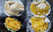 Tự làm thịt gà hấp muối Quảng Đông thơm ngon, chuẩn vị cho người sành ăn