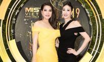 Hà Kiều Anh diện đầm đen quý phái, Trương Ngọc Ánh vàng rực rỡ trên thảm đỏ chung kết Mister Việt Nam 2019