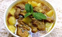 Khoai tây om vịt: Món ngon cho bữa cơm chiều