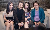 Hoa hậu MyNa Lê rạng rỡ bên Đăng Khôi ở đêm nhạc