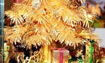 Cây thông Noel vàng giá nửa tỷ đồng tại Việt Nam