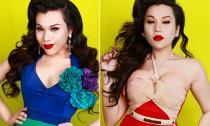 'Bản sao Hà Hồ' nổi loạn với các gam màu cá tính
