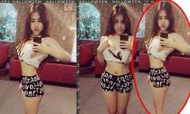 Quản lý cũ Bà Tưng photoshop vòng eo bé xíu như 'dị dạng'