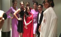 'Cô gái nửa tỉ' - NTK Trang Cherry nổi bật giữa dàn chân dài Ý