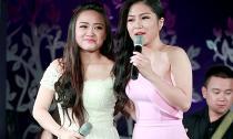 Hương Tràm khản giọng vẫn ra Hà Nội hát ủng hộ chị dâu