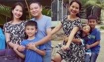 Kim Hiền khoe ảnh hạnh phúc khi được cả gia đình bên nội đón nhận