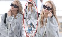 CL (2NE1) mặc luộm thuộm như 'cái bang' ở sân bay