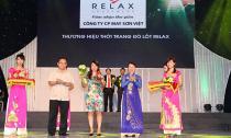 Relax vinh dự nhận giải 'top 10 sản phẩm, dịch vụ Việt Nam được người tiêu dùng bình chọn cao nhất' năm 2014