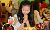 Phan Như Thảo đón tuổi mới thiếu vắng người yêu