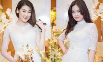 'Cô dâu' Tú Anh, Dương Hoàng Yến xinh tươi với sắc trắng