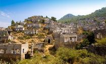 Ngôi làng cổ bỏ hoang tuyệt đẹp của Thổ Nhĩ Kỳ