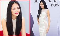 Hương Giang diện váy trắng gợi cảm đi tuyển chọn Hoa hậu