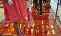 Đại gia chơi trội dùng 600 kg vàng làm gạch lót đường
