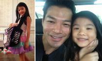 Con gái Trần Bảo Sơn càng lớn càng duyên dáng