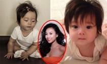 Con gái Đoan Trang xinh xắn, đáng yêu như 'thiên thần'