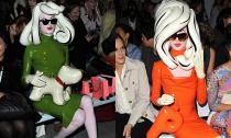 'Tiểu thư cao su' luôn được ngồi ghế VIP tại các show thời trang London