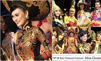 HHQT 2014: Mặc scandal vây bủa, Cao Thùy Linh vẫn lọt vào 'Top 20 Trang phục dân tộc'