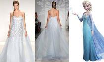 9 mẫu váy cưới lấy cảm hứng từ phim hoạt hình Disney