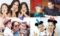 5 bà mẹ tài năng và đảm đang của showbiz Việt