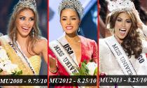 Chấm điểm sắc vóc Hoa hậu Hoàn vũ những năm gần đây