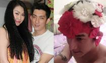 Phi Thanh Vân 'phạt' chồng chưa cưới đội hoa lên đầu