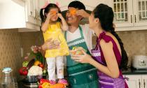 Ghé thăm gia đình Huy Khánh một ngày làm bếp vô cùng ấm cúng