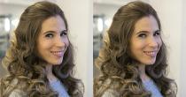 Biến tấu diệu kỳ với 3 kiểu tóc xoăn cô dâu đơn giản
