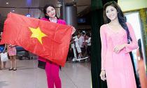 """Đặng Thu Thảo chính thức lên đường dự thi """"Miss International 2014"""""""