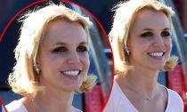 Britney Spears để tóc xơ xác như 'chổi rơm' ra đường