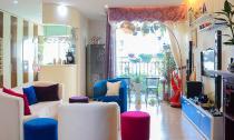Ngắm căn hộ có góc vườn truyền cảm hứng cho cả khu chung cư ở Hà Nội