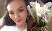 Thu Thủy bất ngờ làm đám cưới bí mật với bạn trai 12 năm