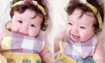 Ngắm khoảnh khắc thiên thần đẹp mê ly của con gái Elly Trần