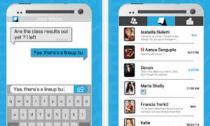 Ứng dụng chat hiển thị nội dung tin nhắn đang gõ