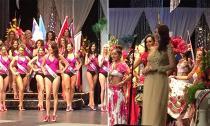Đại diện Việt Nam đoạt giải nhất hình thể HH Quý bà Thế giới