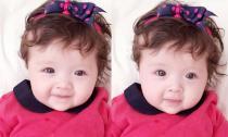 Con gái Elly Trần rộn ràng đón Giáng sinh với váy đỏ